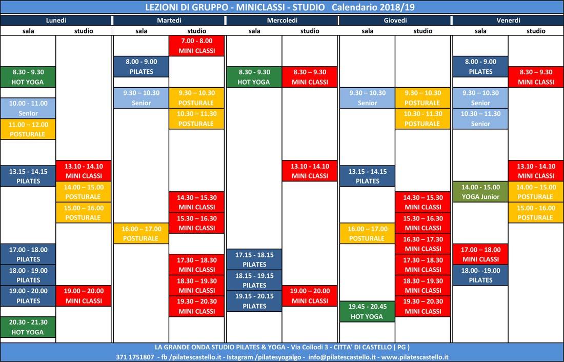 Calendario Attivita.Calendario Attivita