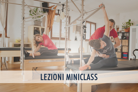 pilates miniclass over